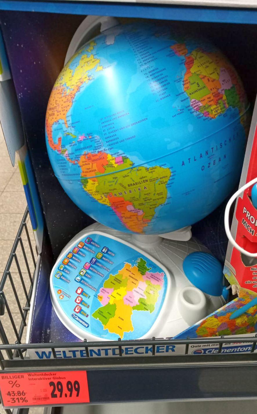 [LOKAL] Kaufland SÖM: Clementoni Weltentdecker Der Interaktive Globus