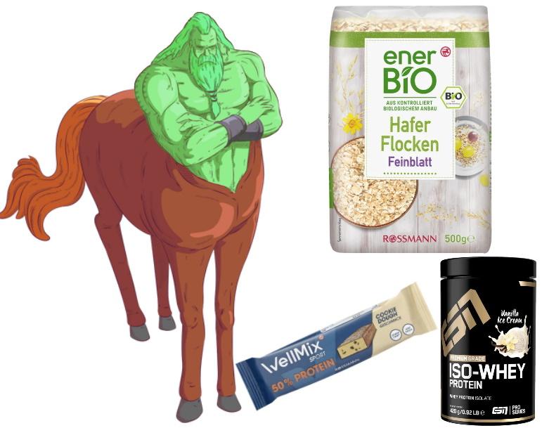 Pumpermarkt [05/21]: Rossmann-Woche, z.B. 500g Bio-Haferflocken - 0,71€ | 50g Proteinriegel - 0,80€ | 420g ESN Iso-Whey Protein - 8,09€