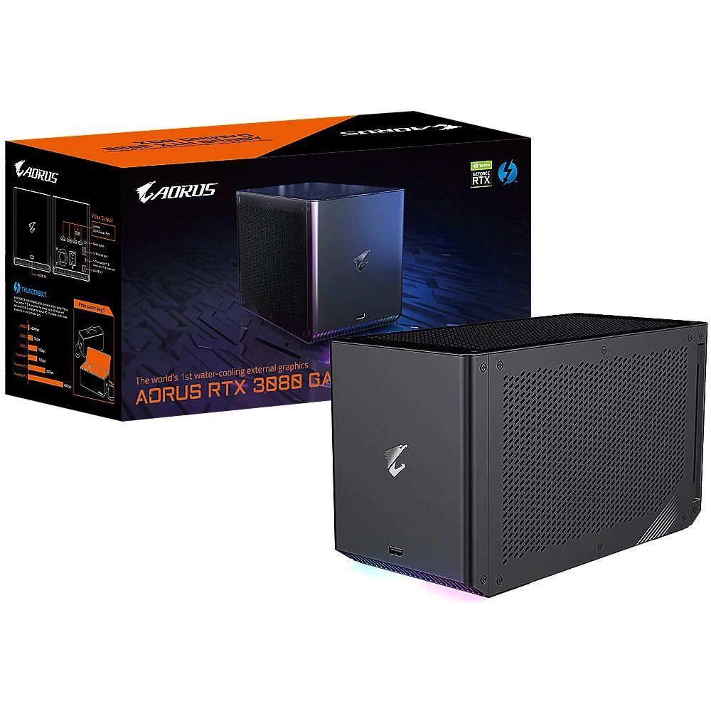 Gigabyte Aorus Geforce RTX 3080 Gaming Box 10 GB GDDR6X Externe Grafikkarte