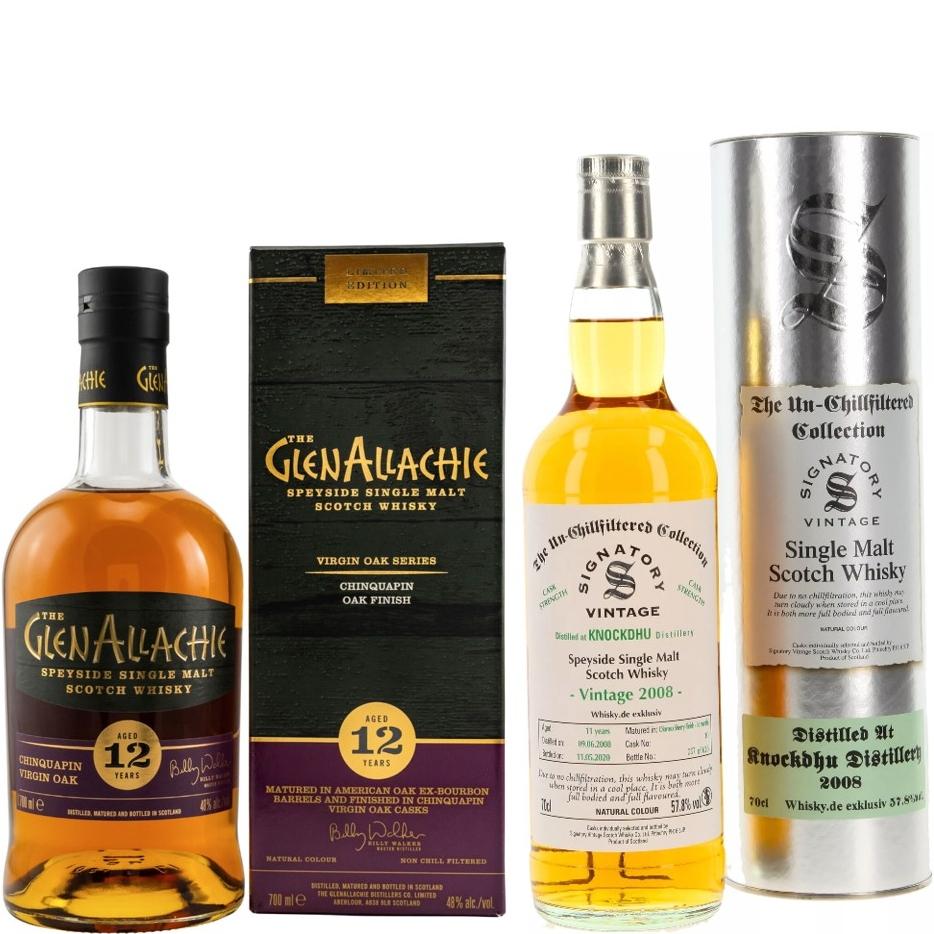 Whisky-Übersicht #71: z.B. SV Knockdhu 2008/2020 für 53,90€ inkl. Versand