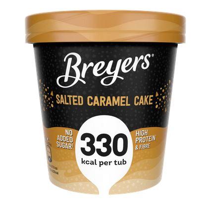 Breyers High Protein Eiscreme, kalorienreduziert, verschiedene Sorten, 465ml Becher ab 08.02. für nur 4,29€ [ALDI-NORD]