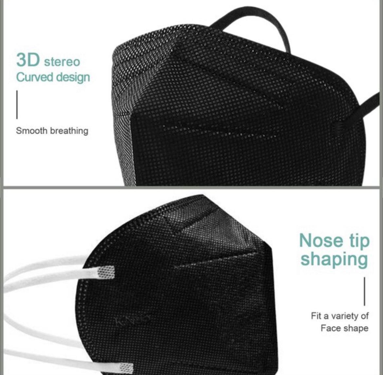 KN95 Schutzmasken 100 Stück für 18,48 Versand aus Deutschland
