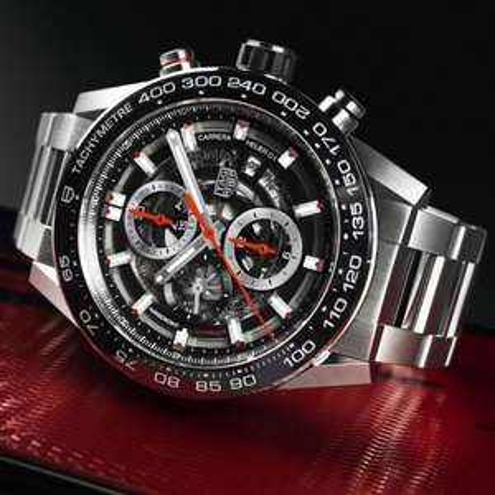 TAG Heuer Chronograph Carrera Manufakturkaliber Automatikuhr CAR2A1W.BA0703