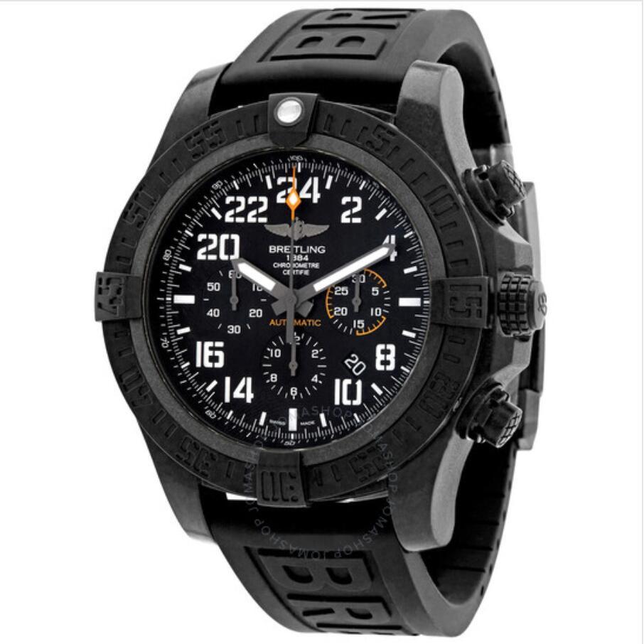 [Jomashop] BREITLING Avenger Hurricane 50 Chronograph ( Automatic Chronometer, Black, Dial Men's Watch XB1210E41B1S1 )