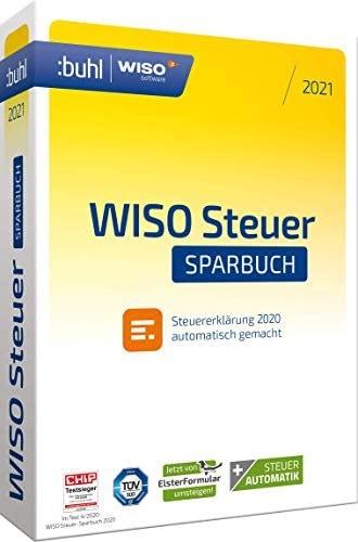 [Amazon] WISO Steuer-Sparbuch 2021 (für Steuerjahr 2020 | PC Aktivierungscode per Email)