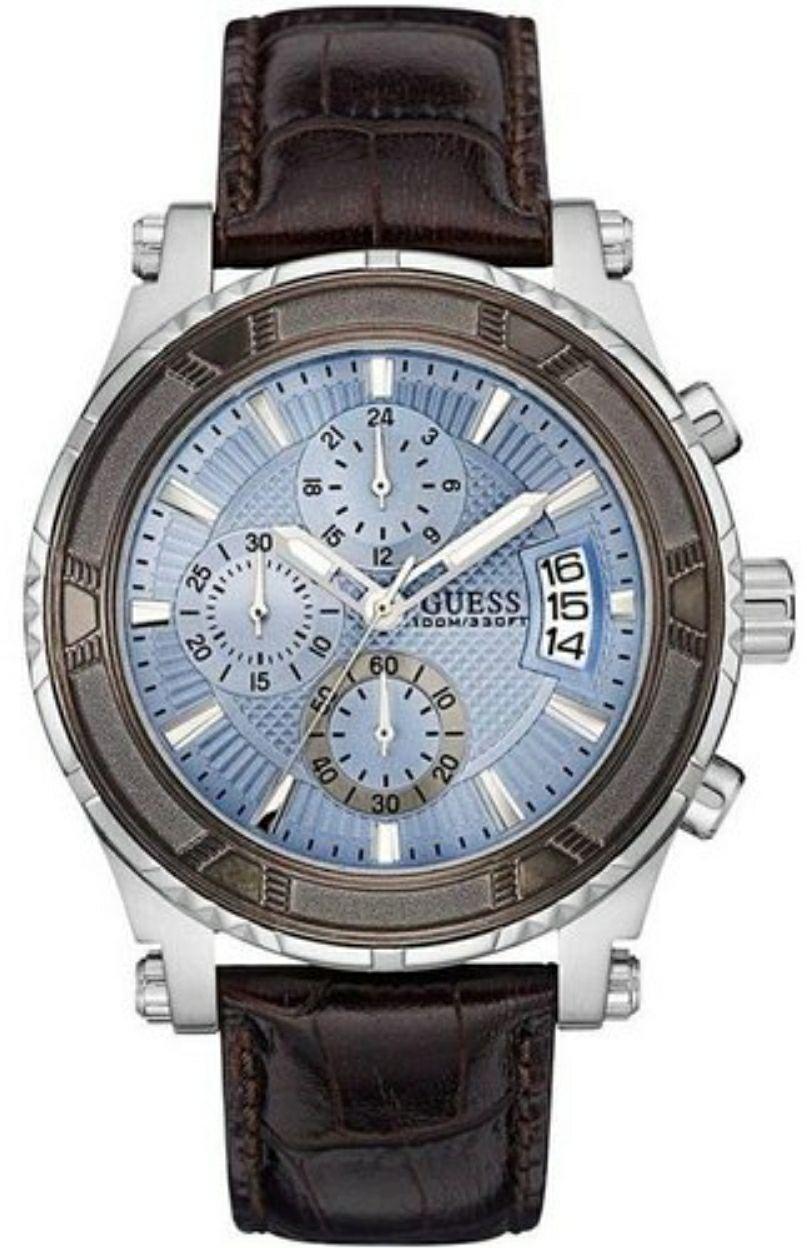 Armbanduhr Guess Herren Chronograph Pinnacle