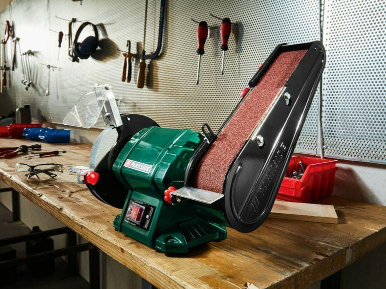 [Lidl Lokal] Parkside Standbandschleifer Schleifmaschine 240 Watt