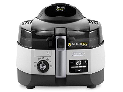 De'Longhi MultiFry Extra Chef FH1394 Heißluftfritteuse, Multicooker mit 1,7 kg Fassungsvermögen, 7 Kochprogramme uvm.