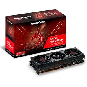 PowerColor Radeon RX 6800 XT Red Dragon, 16GB GDDR6, HDMI, 3x DP (ab 24:00 keine VSK)