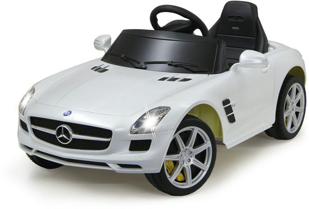 [mediamarkt.de] JAMARA KIDS 404610 Mercedes SLS AMG Kinderfahrzeug, Weiß, 60-90min Fahrzeit, Alter 3-6 J.