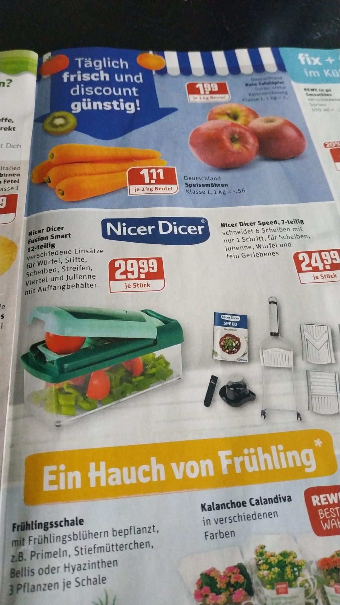 REWE Meyer, Dinslaken (NRW) - Nicer dicer fusion smart - 12 tlg. *Lokal*