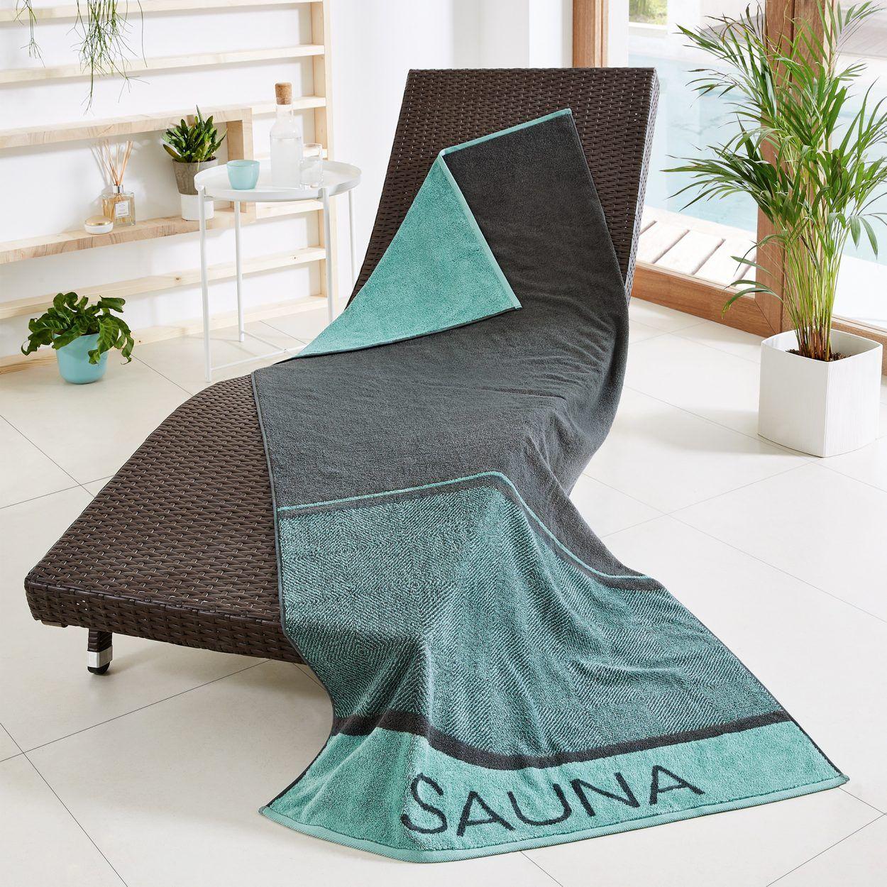 [Aldi Nord] Saunatuch reine Baumwolle 200 x 90