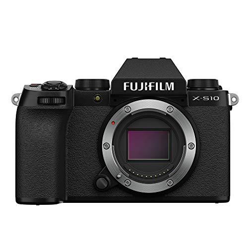 Fujifilm X-S10 Systemkamera (26,1 MP APS-C, IBIS)