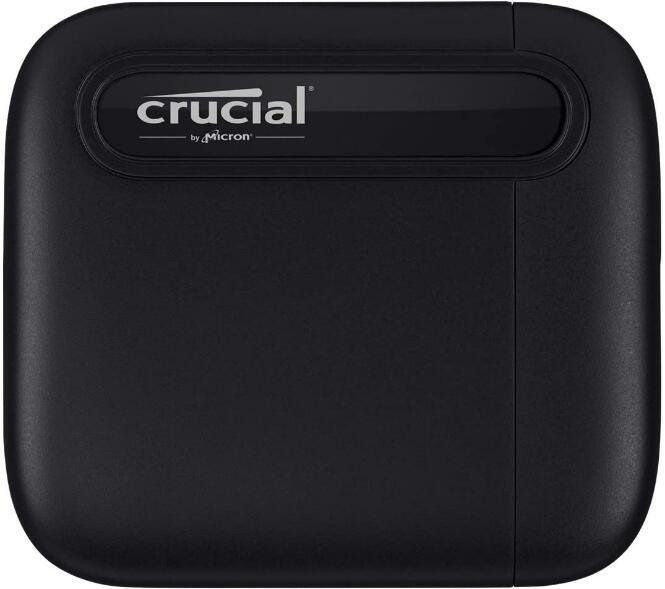 Crucial X6 Portable 1TB - Externe SSD mit USB-C für 90,59€ inkl. Versand (Amazon.es)