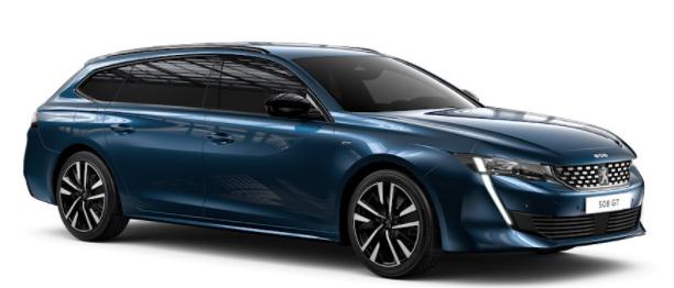 Privatleasing: Peugeot 508 SW GT / 131 PS (konfigurierbar) für 119€ (eff 168€) - LF: 0,29