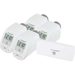 [Reichelt] Homematic IP Set Heizen: 4x Basic-Thermostate + WLAN-AP