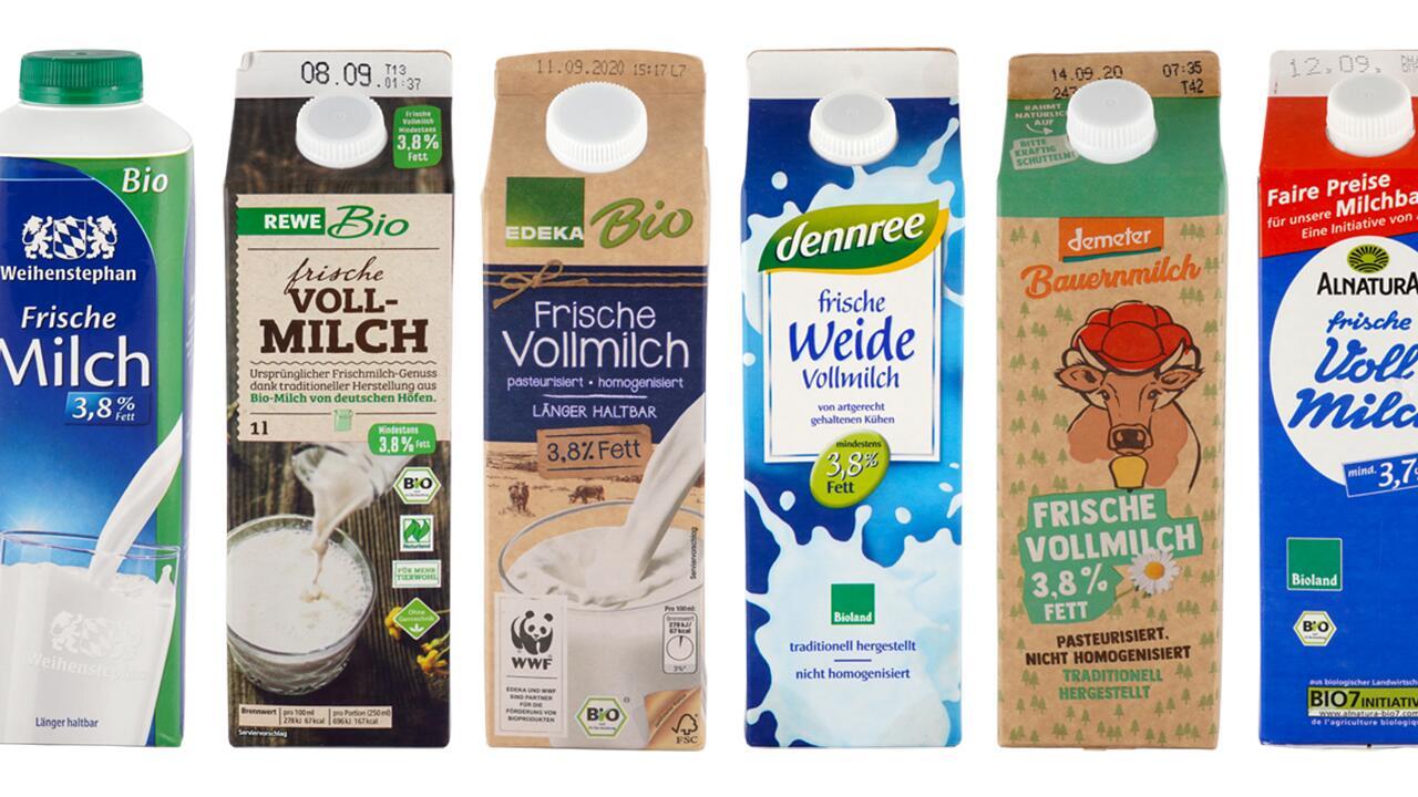 """Ökotest """"Milch im Test"""" Ergebnisse kostenlos für alle"""