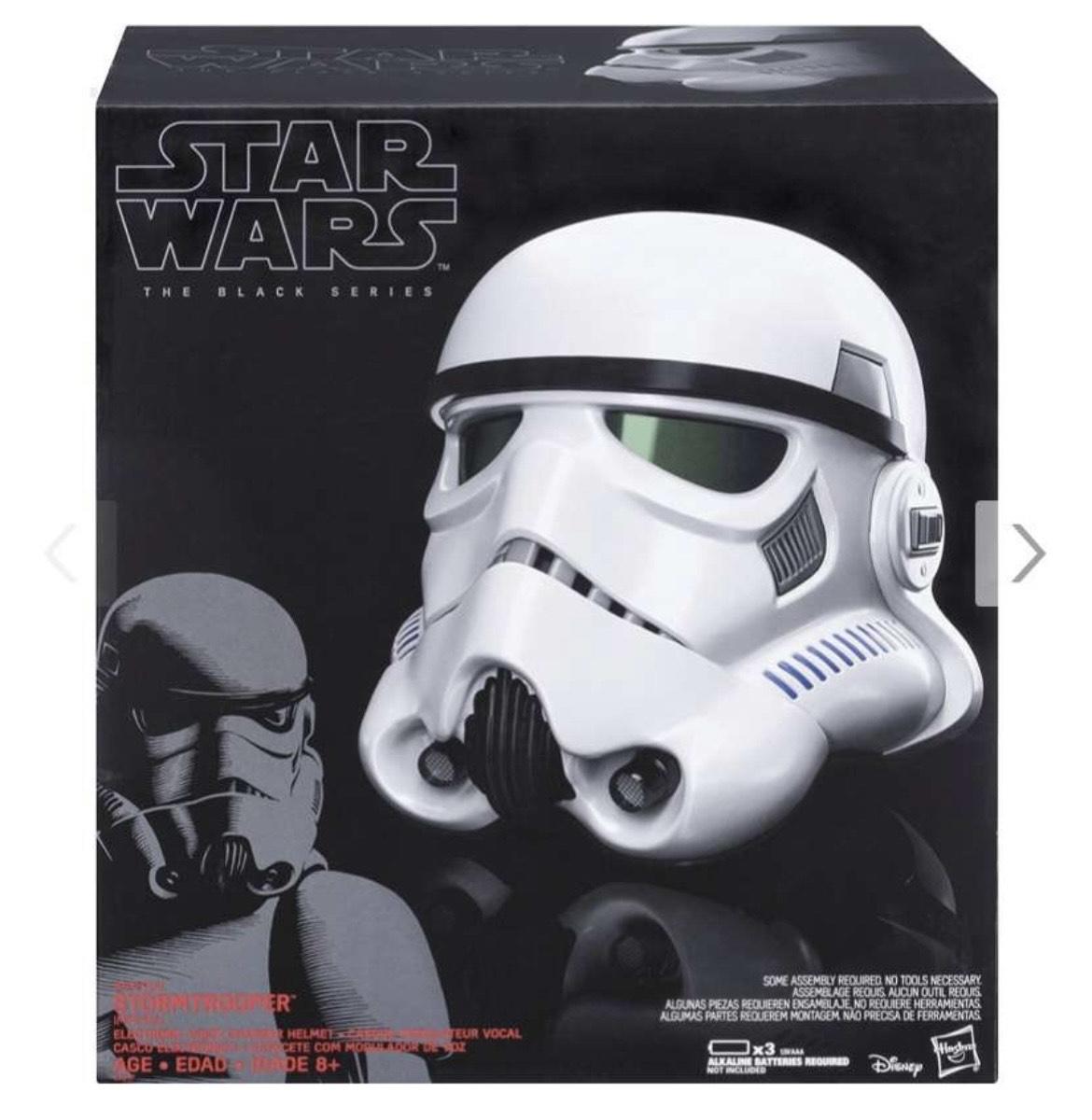"""Hasbro Star Wars """"The Black Series"""" Stormtrooper Helm"""