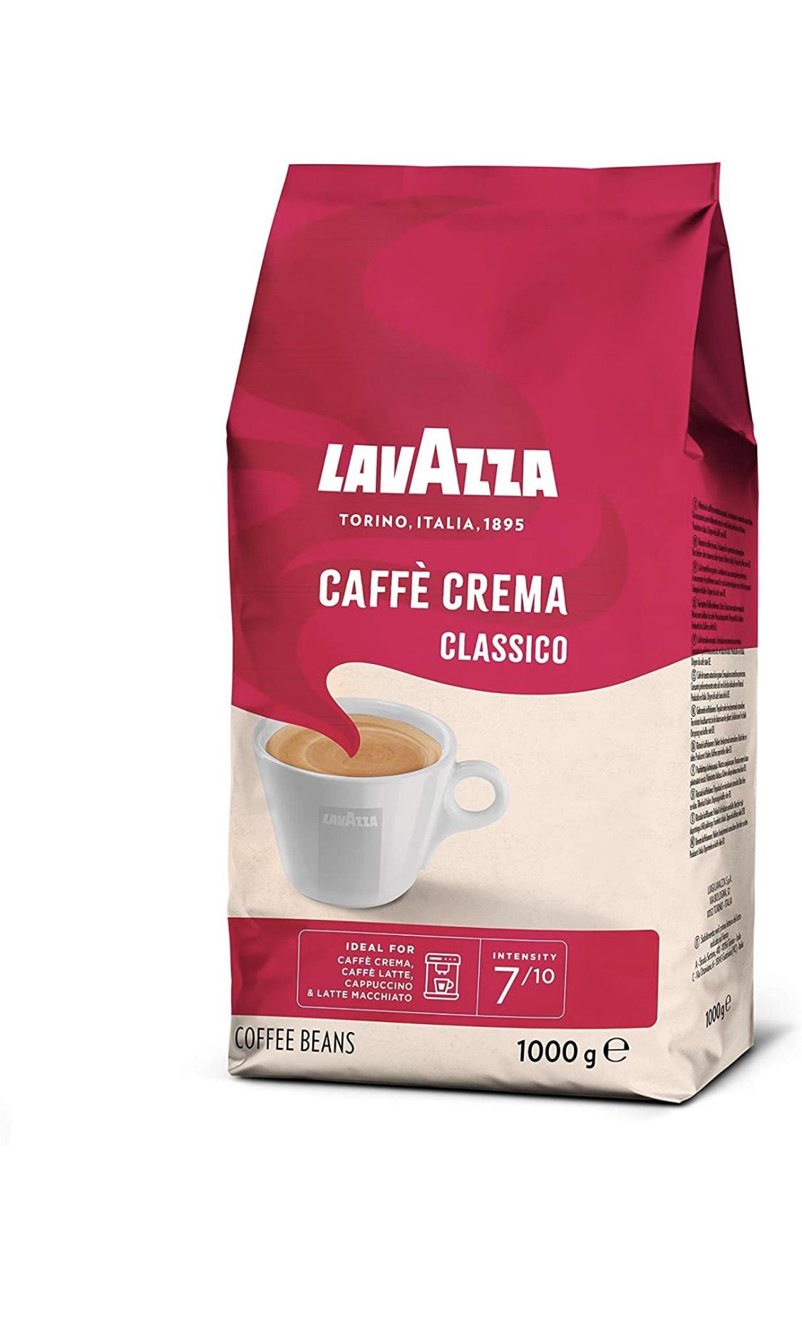 Lavazza Kaffeebohnen - Caffè Crema Classico (1kg) personalisiert für das 1. Abo