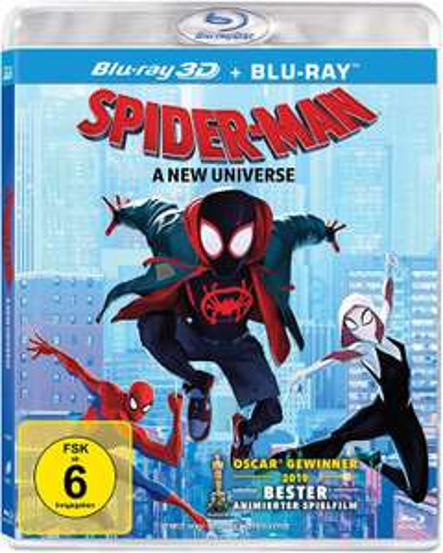 Spider-Man: A new Universe (3D Blu-ray, 2 Disc) [Prime & Mediamarkt Abholung]
