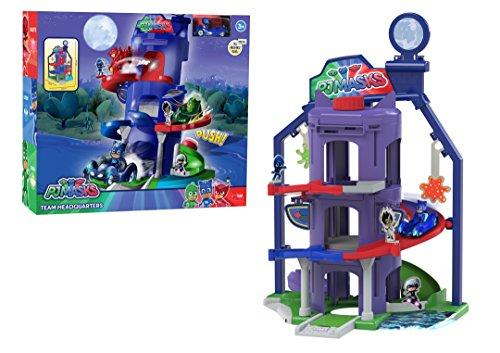 (Amazon Prime) Dickie Toys PJ Masks Hauptquartier, Spielset zur Serie inkl. Catboy in Catcar