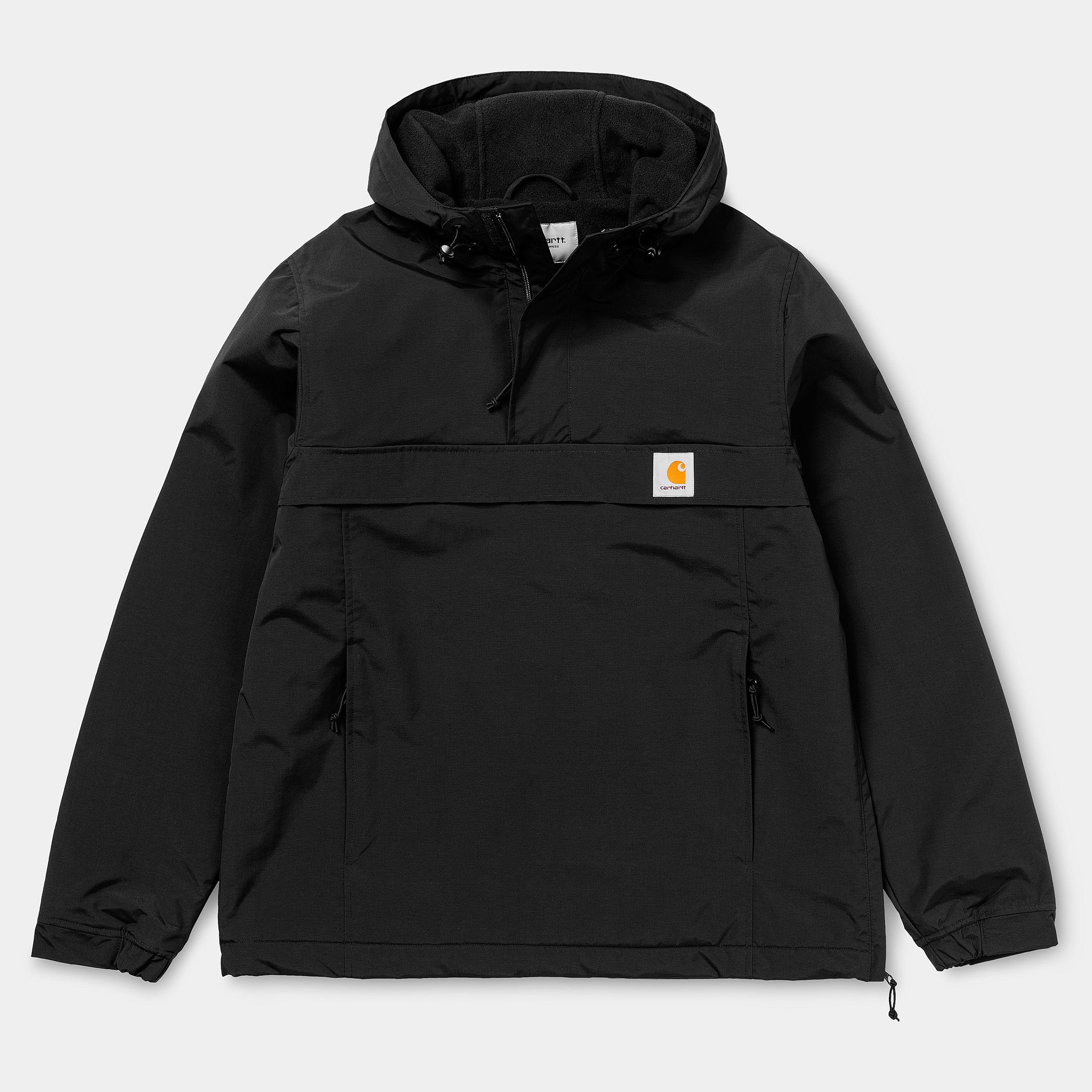 Carhartt WIP Nimbus Pullover (Jacke) Winter für Herren in schwarz (Gr. XS - M + XL)