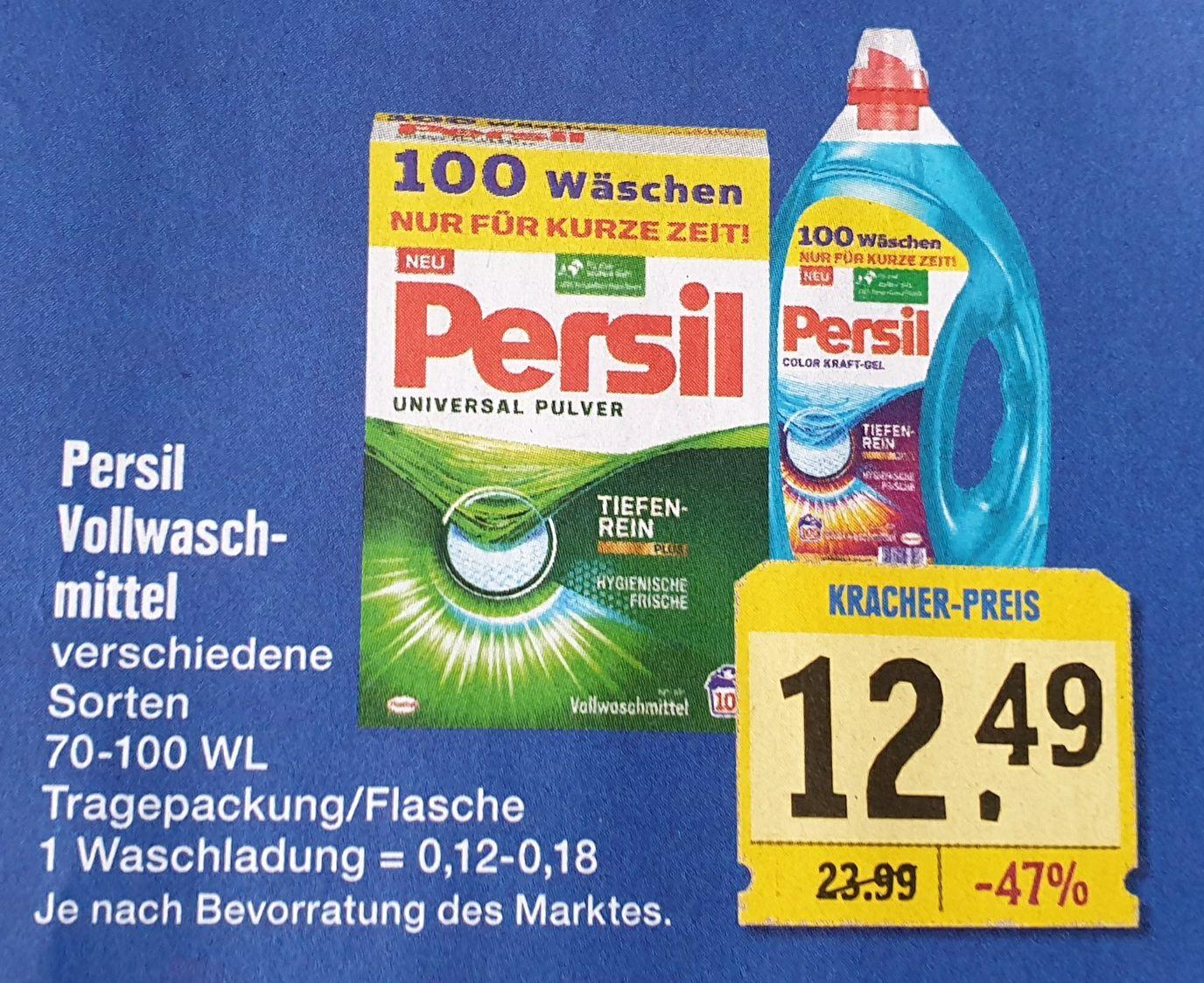 Persil Vollwaschmittel Universal Kraft-Gel (12ct/WL) (Lokal Edeka Höchner)