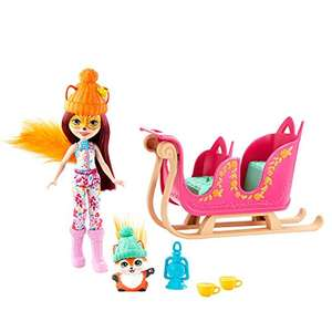 (Amazon Prime) Mattel Enchantimals Schlittenfreunde mit Felicity Fox & Flick