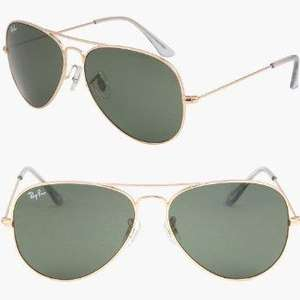 Ray-Ban Aviator Large Metal RB3025 L0205 (arista/crystal green) Sonnenbrille