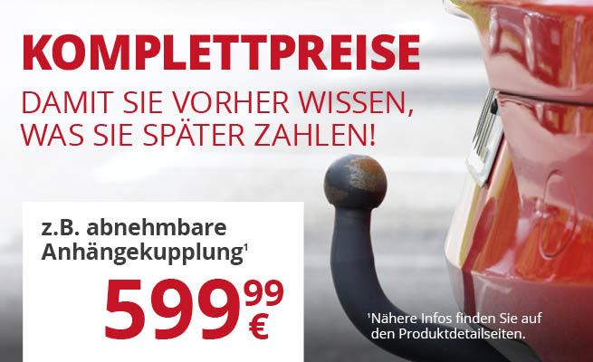 ATU Aktion: BRiNK Anhängerkupplung Komplettpreis 200 € günstiger