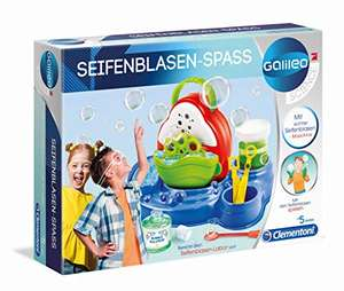 (Amazon Prime) Clementoni Galileo Science – Seifenblasen-Spaß, Experimentierkasten für kleine Wissenschaftler