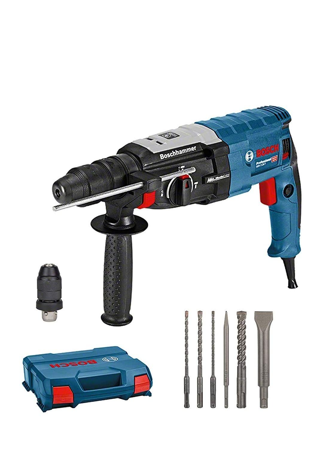 Bosch Professional Bohrhammer GBH 2-28 F 880 Watt, SDS-plus, in L-Case
