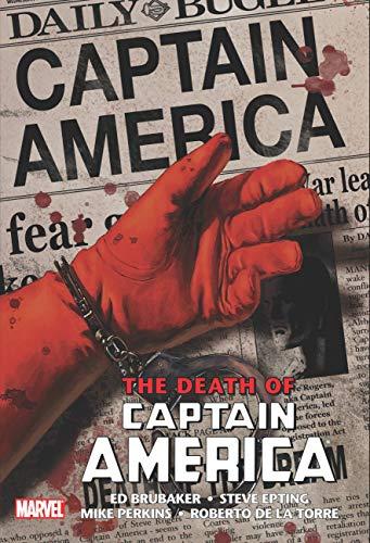 [Amazon Vorbestellung] Marvel Comics Death of Captain America Omnibus (Englisch), 17.08.21, 464 Seiten