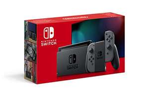 Nintendo Switch mit JoyCon in Grau auf Amazon.fr