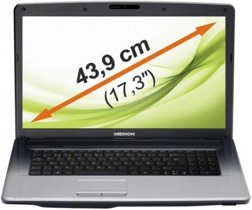 "MEDION MD 99060 E7222 - 17,3 "" Notebook mit Core i3 und 750 GB HDD [B-WARE]"