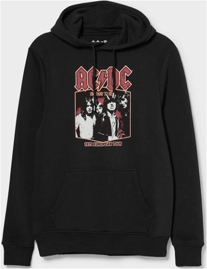 AC/DC Kapuzenpullover mit Kängurutasche S-XL für 17,99€ inkl. Versand