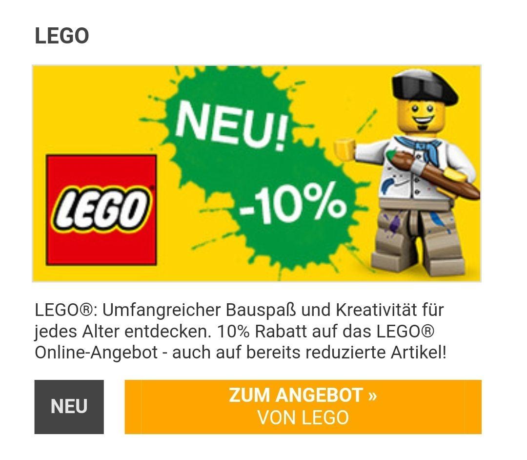 [Corporate Benefits] LEGO 10% auf ALLES