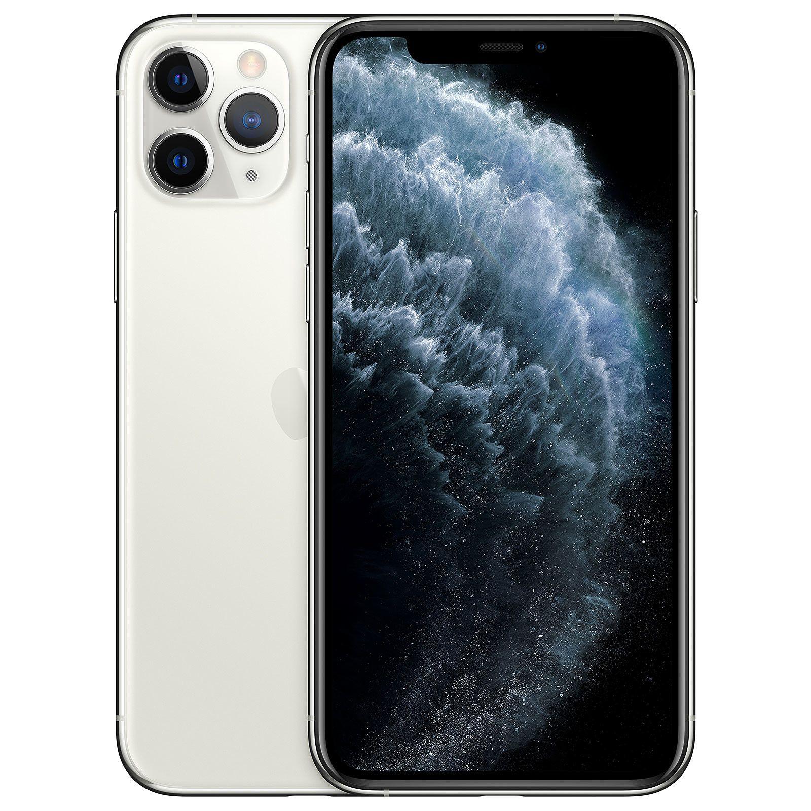 """Apple iPhone 11 Pro 512/4GB (Apple A13, 5.8"""" OLED Display, 12MP Triple Kamera, 3046mAh Akku, IP68 Zertifizierung, 188 Gramm)"""