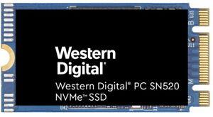 Western Digital SN520 NVME m.2 2242 SSD 128GB