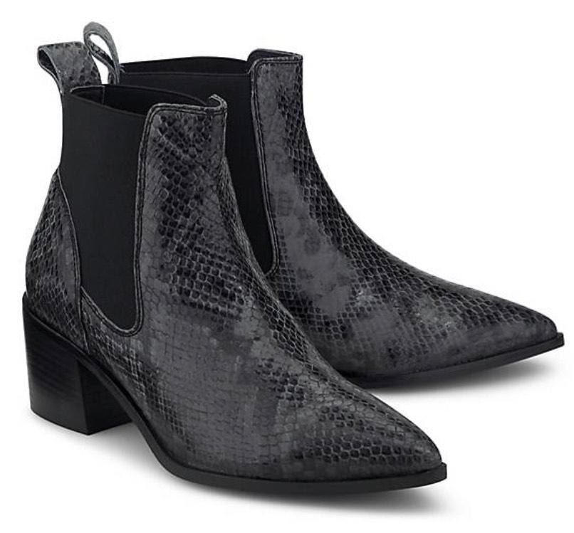 Another A Fashion-Stiefelette Leder schwarz Größen 37-41 [goertz]