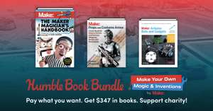 Humble Book Bundle: Make Your Own Magic & Inventions
