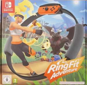 Ring Fit Adventure (Switch) für 62,95€ oder 58,95€ durch Aufladung (Amazon App Italien - personalisiert)