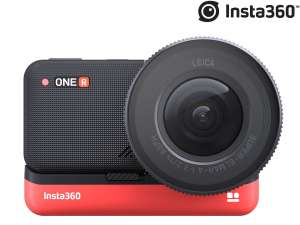 """Insta360 ONE R 1"""" Edition modulare Action-Cam (Leica Weitwinkelobjektiv, USB-C, WLAN, Bluetooth, IPX8, HDR, Touchscreen)"""