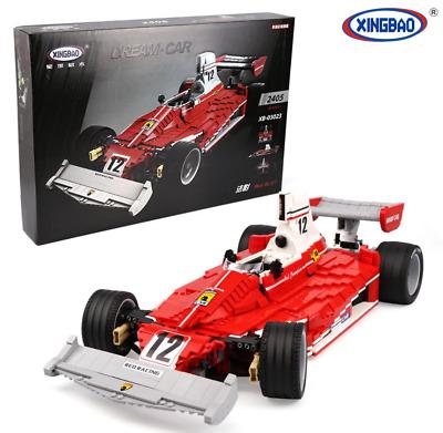 [Klemmbausteine][Ebay]XINGBAO 03023 Red Power Racing Car 2405 Teile,OVP Versand aus DE