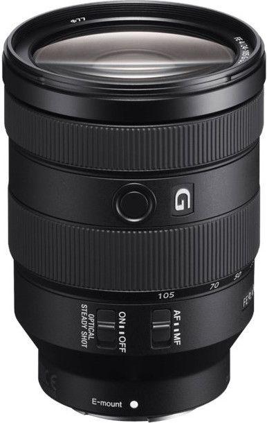 Sony SEL-24105G G Standard Zoom-Objektiv (24-105 mm, F4, OSS, Vollformat, geeignet für A7, A6000, A5100, A5000 & Nex Serien, E-Mount)