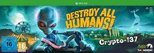 Destroy All Humans! Crypto-137 Edition (Xbox One , PC - 149,99€) (PS4 - 164,98€)