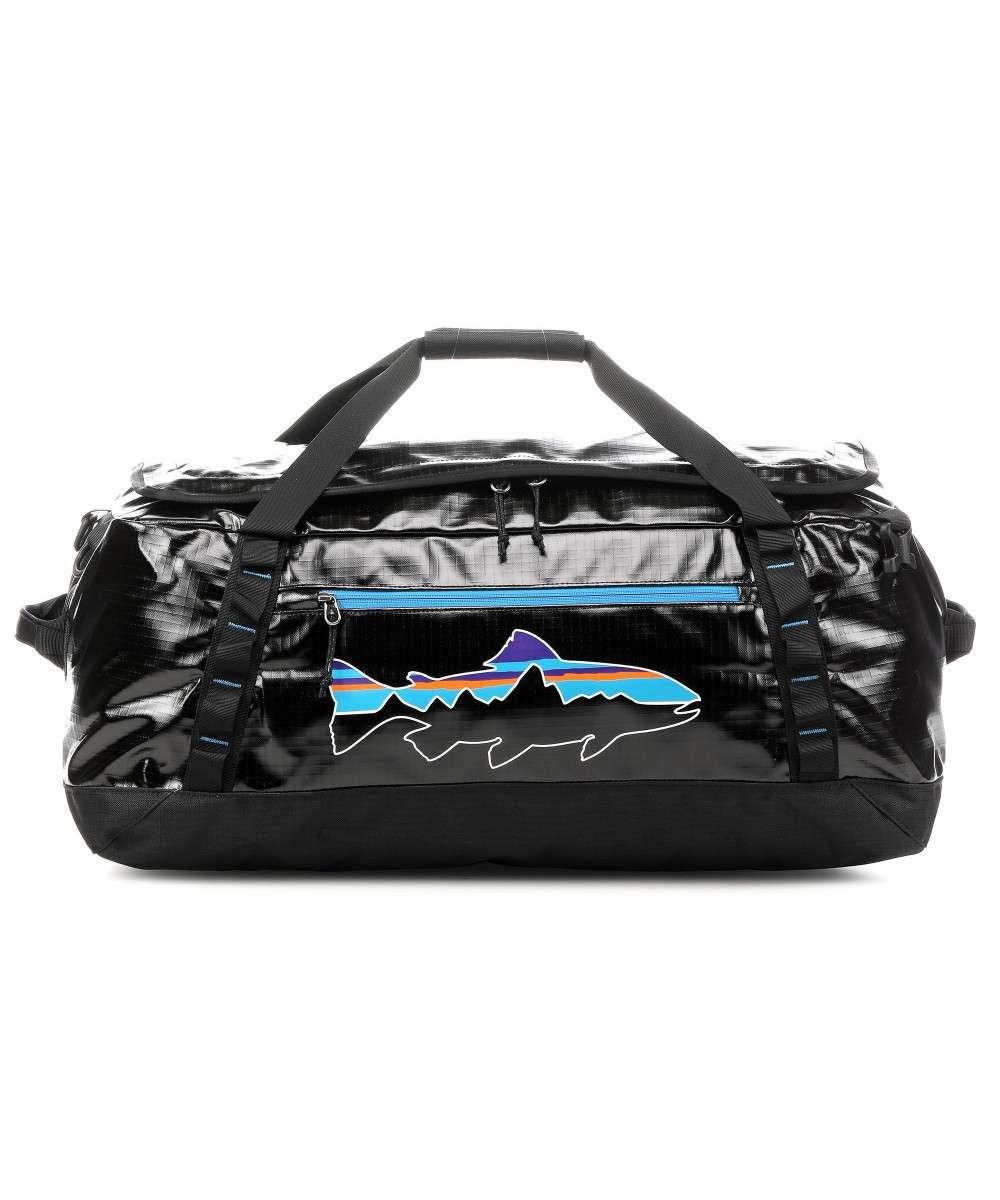 Patagonia Black Hole Duffel 55 Reisetasche schwarz/blau / Maße: ca. 68 x 30 x 39 cm/ Gewicht: 1,1 kg / Volumen: 55 L