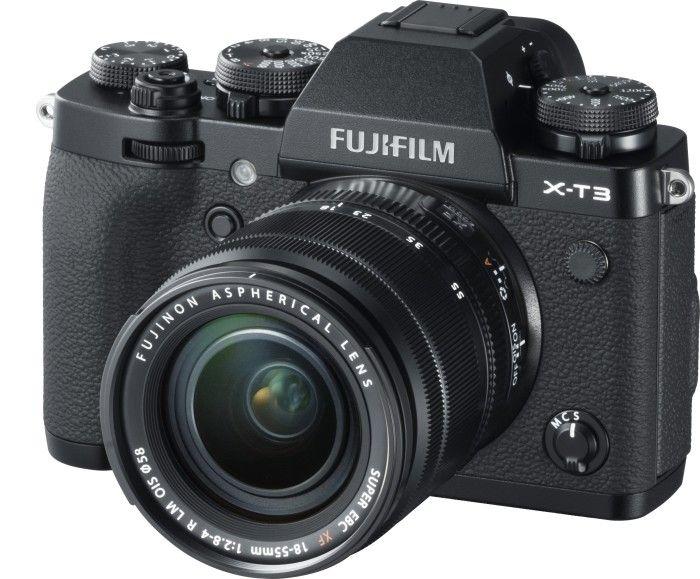[Preisfehler] Fujifilm X-T3 Systemkamera (26,1 Megapixel, APS-C-Sensor) inkl. 2 Objektive XF 18-55 mm + XF 55-200 mm