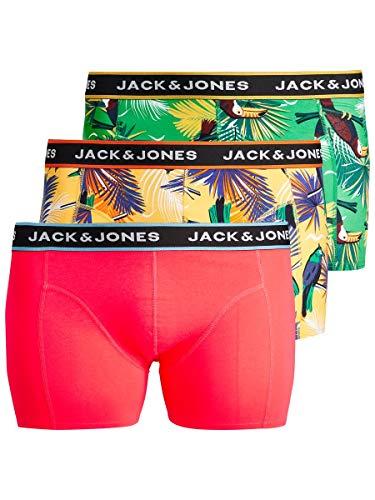 """[Amazon Prime] JACK & JONES Herren Boxershorts """"Animal Trunks"""", Größe: 4XL, 1,92€ pro Boxershort"""