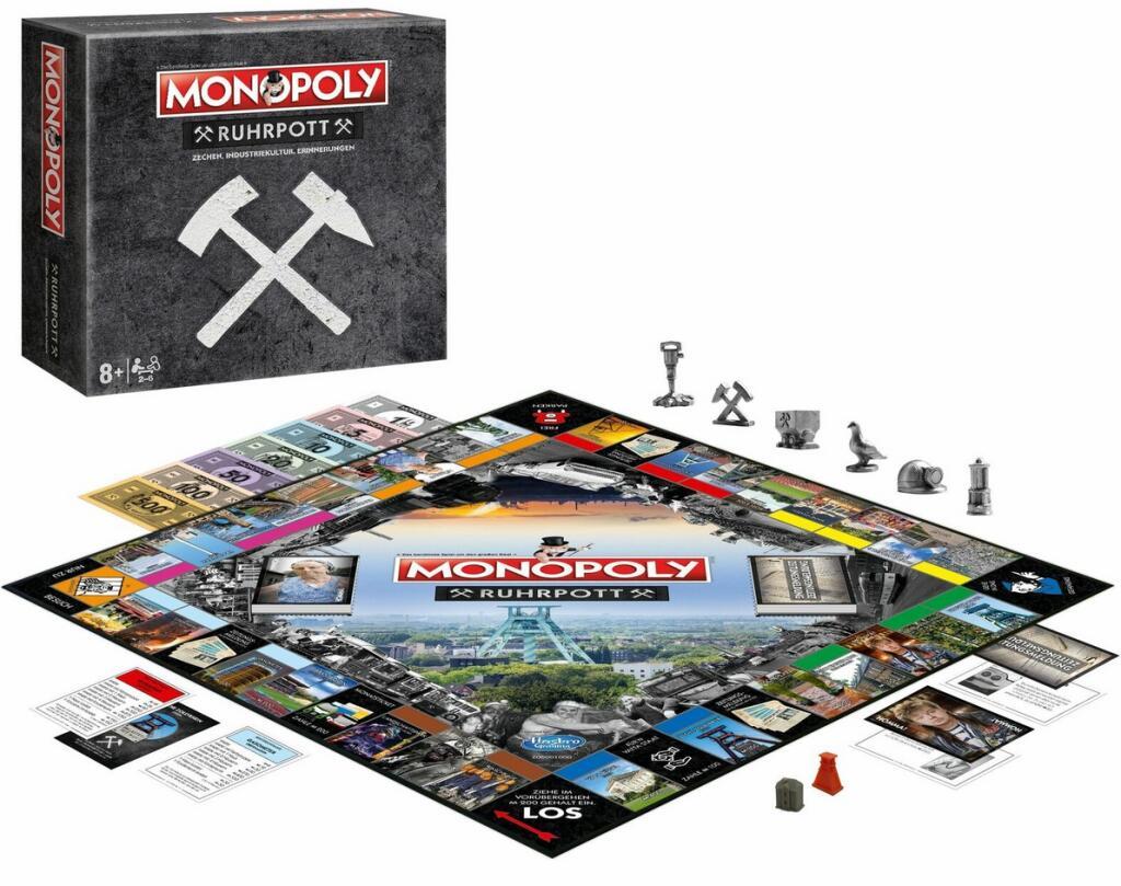 "Monopoly ""Ruhrpott Edition"" + Gratis Zechen-Kartenspiel"